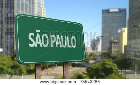 Amazing Sao Paulo Sign (Brazil)
