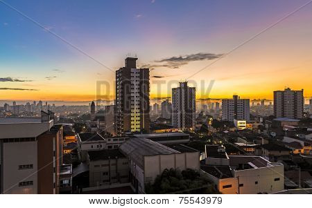 Sunset in Sao Paulo, Brazil - Latin America