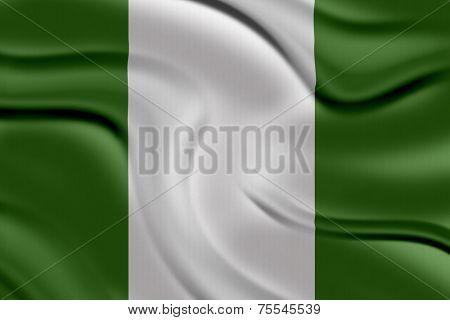 Amazing Flag of Nigeria