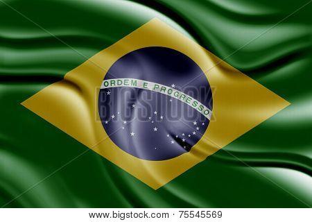 Amazing Flag of Brazil