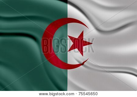 Amazing Flag of Algeria