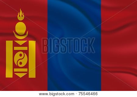 Amazing Flag of Mongolia , Asia
