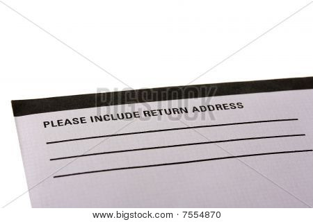 Return Address