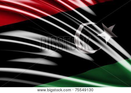 Amazing Flag of the Libya