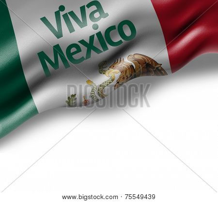 Amazing Flag with Viva Mexico