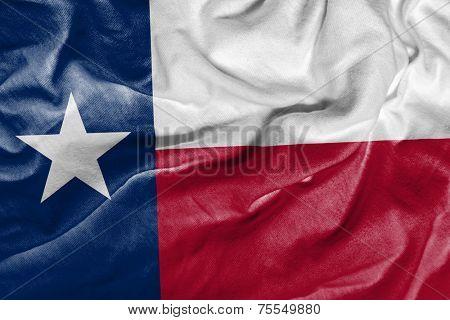Amazing Flag of the States of Texas , United States ( USA ) , America