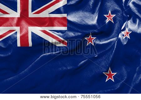 Amazing Flag of New Zealand, Oceania