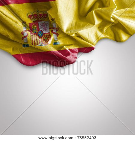 Waving flag of Spain, Europe