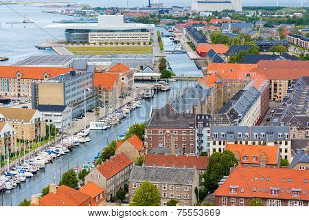 Copenhagen City, Denmark, Scandinavia