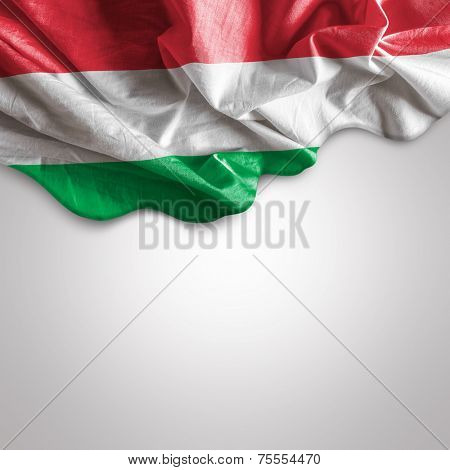 Waving flag of Hungary, Europe