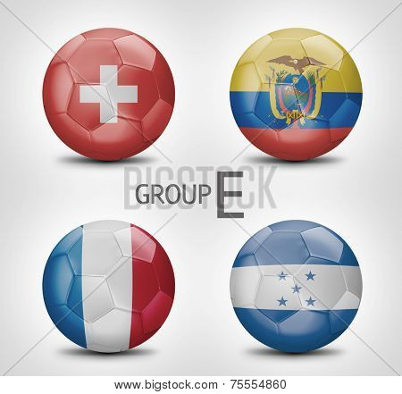 Group E - Switzerland, Ecuador, France, Honduras (Brazil)