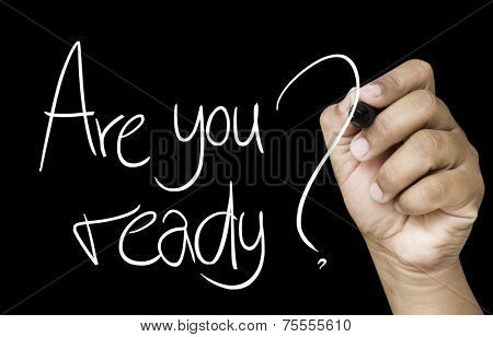 Are you ready hand writing with a white mark on a transparent board