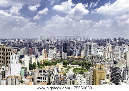 Skyline of Sao Paulo, Brazil - Latin America