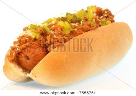 Chili Hot Dog