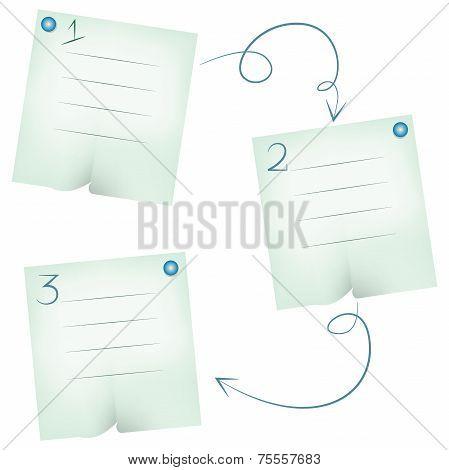 note paper diagram