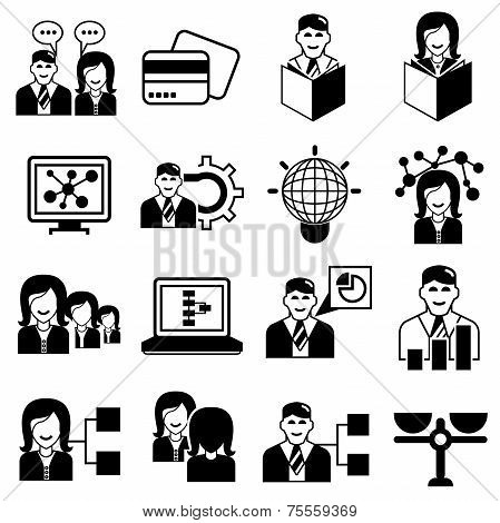 office management icons