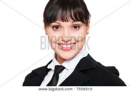 Smiley Businesswoman