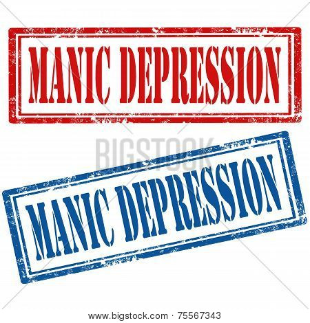 Set Of Manic Depression Stamps