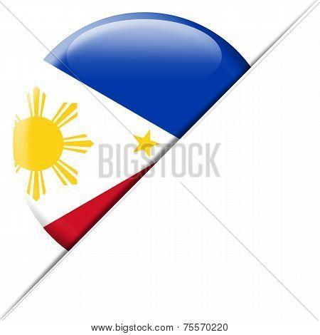 Philippines pocket flag