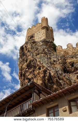 Castle At The Top Of The Cliff