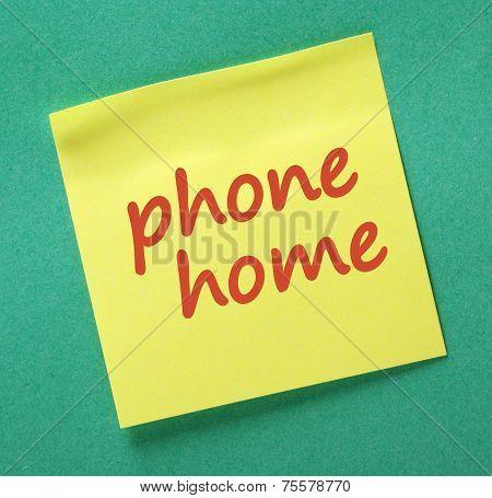 Phone Home Reminder