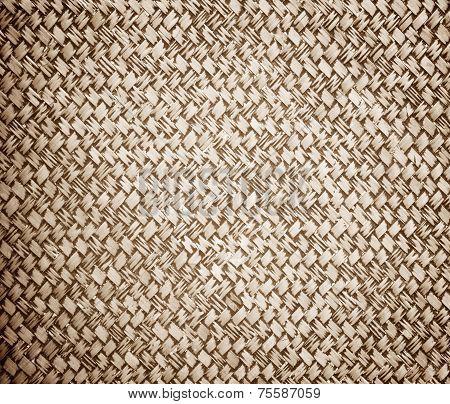 Rattan Weave Wall