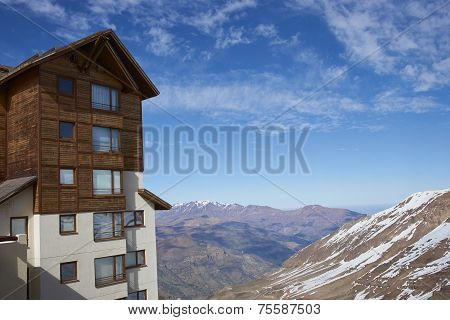 Skiing Centre of Chile