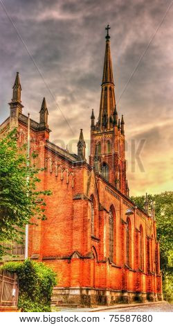 St. Saviour's Anglican Church In Riga, Latvia