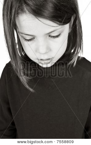 Upset Young Child