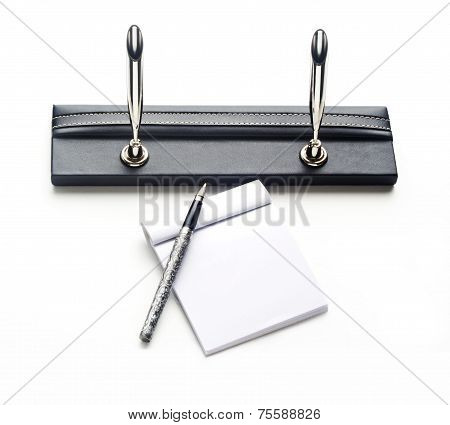 Pens Holder And Note Book