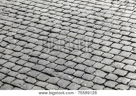 Old Cobble Stone Street