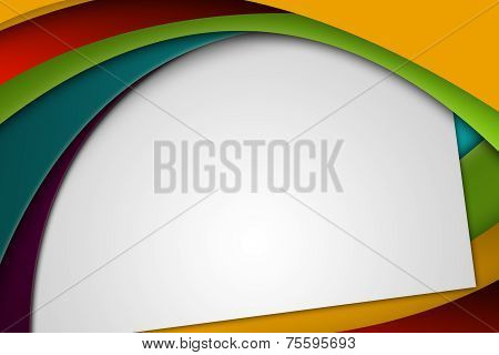 Colorful Abstract Background With Copy Space