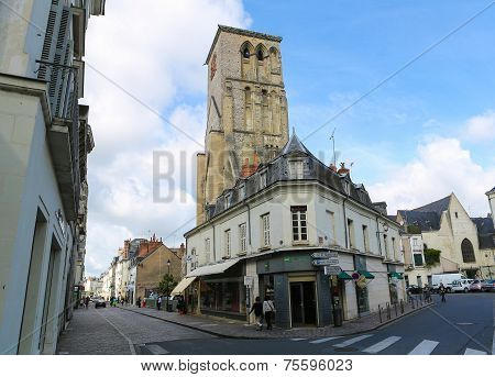 Tours Charlemagne In Tours, France