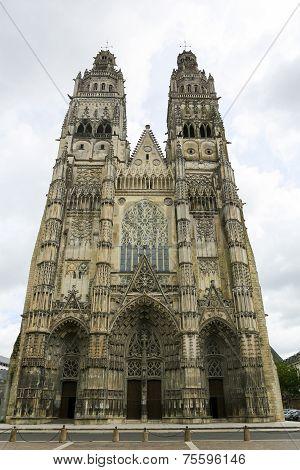 Saint Gatien Cathedral Of Tours