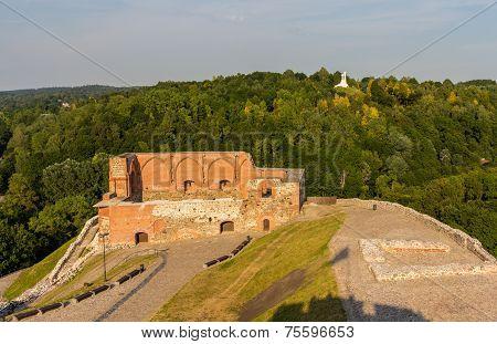 Remains Of Vilnius Castle, Lithuania