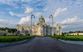 foto of throne  - Ananta Samakhom Throne Hall In Dusit Palace - JPG