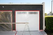 image of tar  - a home remodeling project - JPG