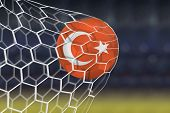picture of netball  - Amazing Turkey Goal - JPG