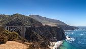 picture of bixby  - The Big Sur and its rocky coastline on a wonderful day in USA - JPG