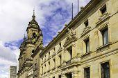pic of bolivar  - Bogota Cathedral in Bolivar Square in Bogota - JPG