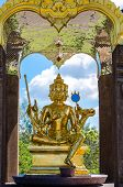 stock photo of brahma  - lord Brahma is important in thailand and world - JPG
