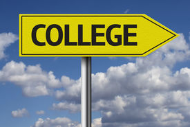 pic of post-teen  - College creative sign - JPG