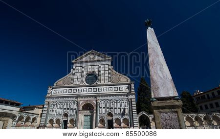 Basilica Of Santa Maria Novella And Monument, Florence, Italy