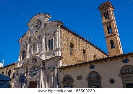 Chiesa Di Ognissanti (all-saints Church) Is A Franciscan Church.