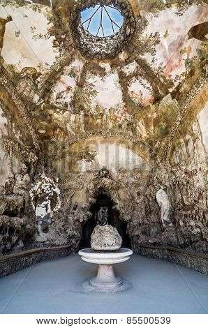 Interior Of Buontalenti Grotto On Boboli Gardens, Florence.