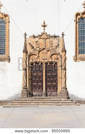 Door Of Saint Michael's Chapel