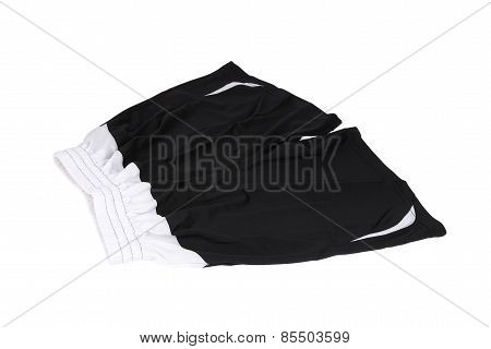 Sport Shorts. Isolated On A White Background