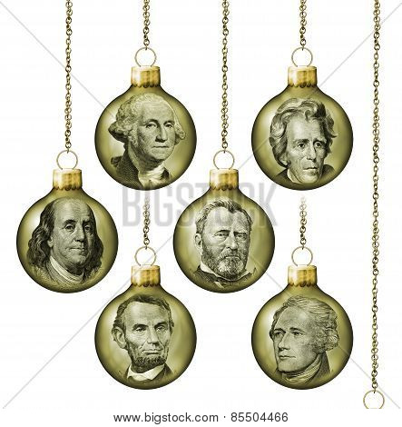 Presidential Ornaments