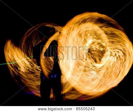 Gasoline Dance Fiery Motion