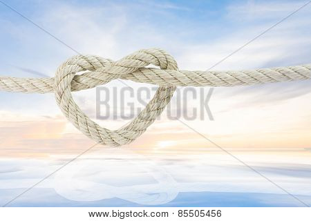 rope with sky